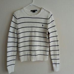 Ralph Lauren Sweaters - Ralph Lauren Sport cotton stripe knit sweater
